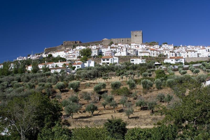 Castelo de Vide immagini stock libere da diritti