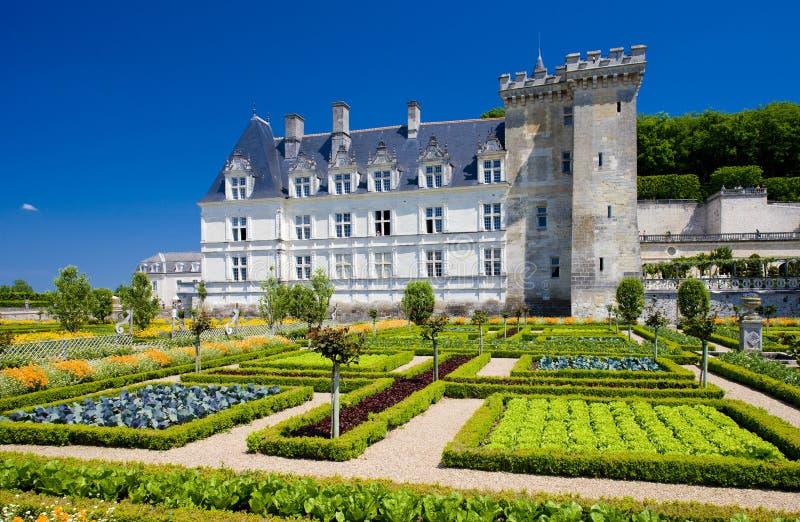 Castelo de Villandry foto de stock royalty free