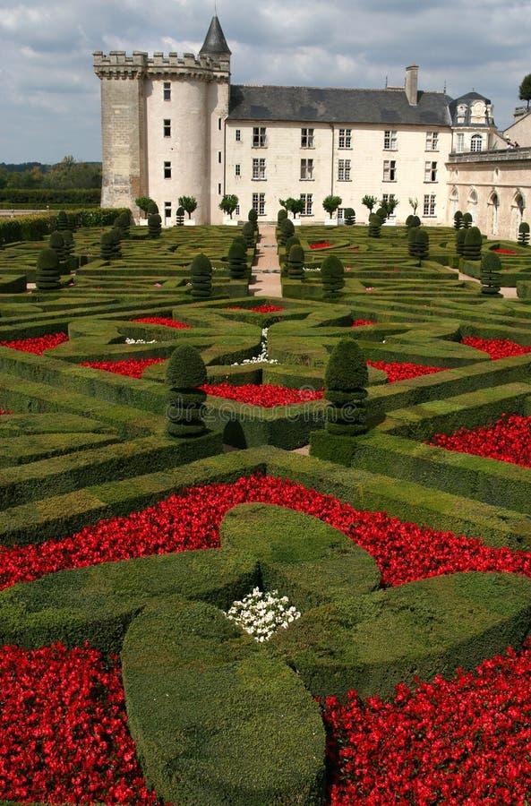 Castelo de Villandry, France imagens de stock royalty free