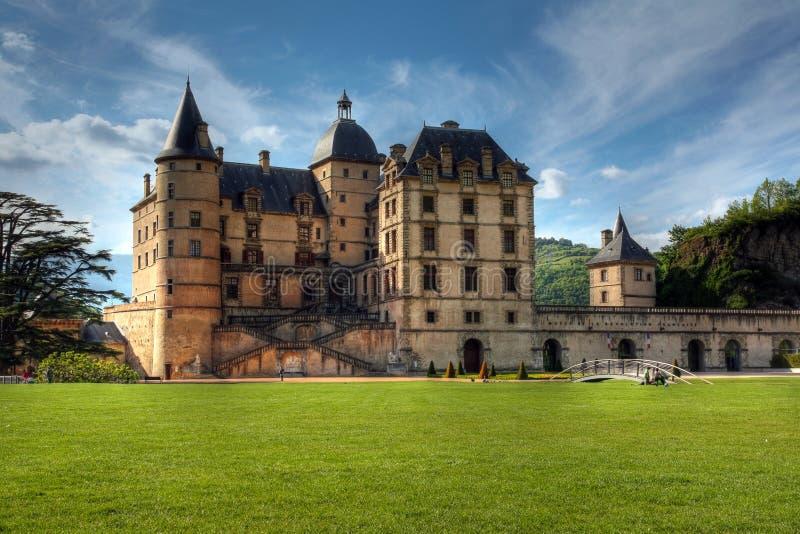 Castelo de Vizille 03, perto de Grenoble, France imagem de stock
