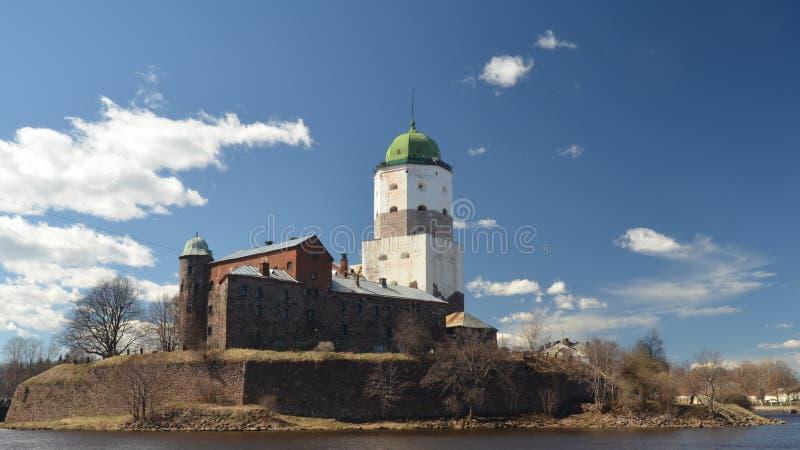 Castelo de Vyborg fotos de stock