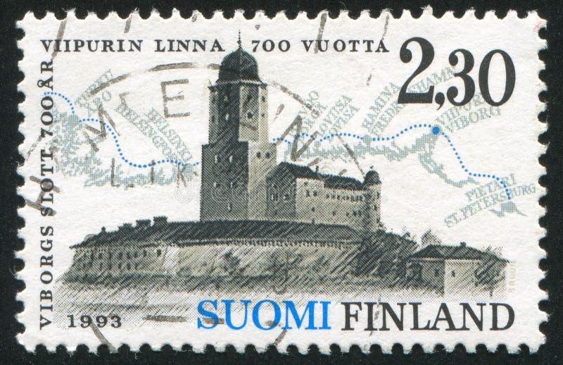 Castelo de Vyborg imagem de stock royalty free