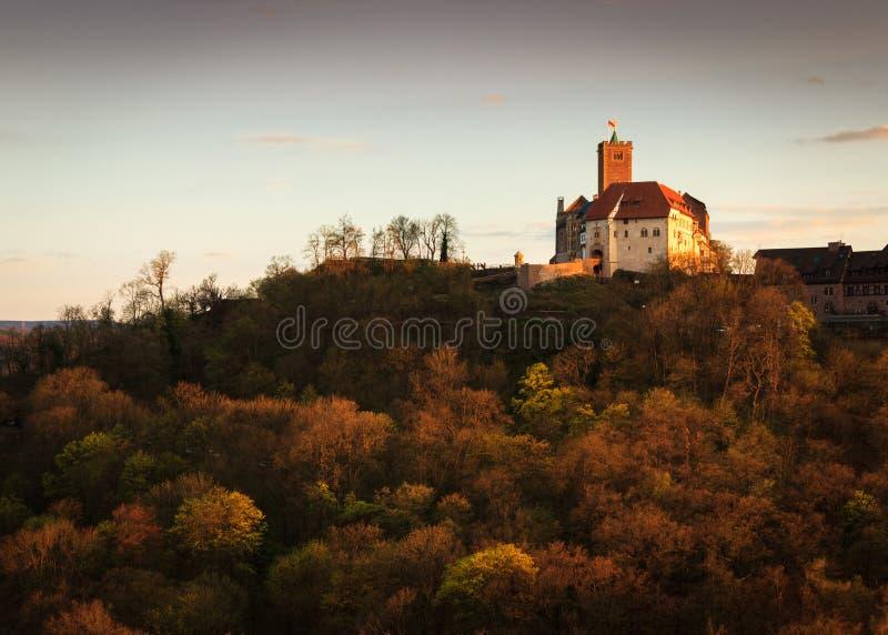 Castelo de Wartburg fotos de stock