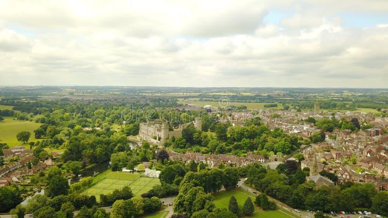 Castelo de Warwick imagens de stock royalty free