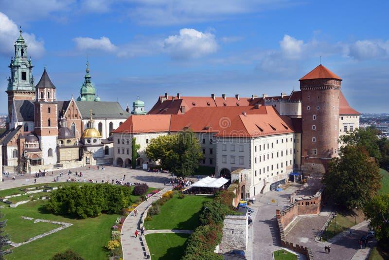 Castelo de Wawel, Krakow, Poland foto de stock royalty free