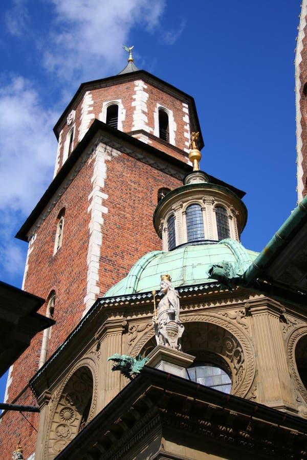 Castelo de Wawel. Krakow. Poland. foto de stock
