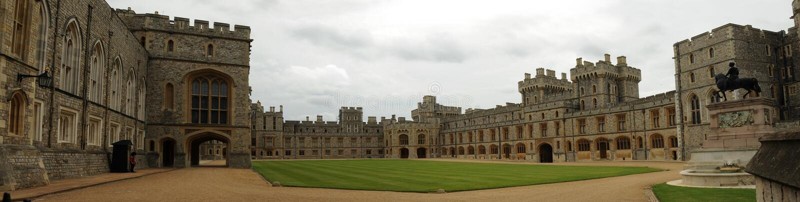 Castelo de Windsor imagem de stock