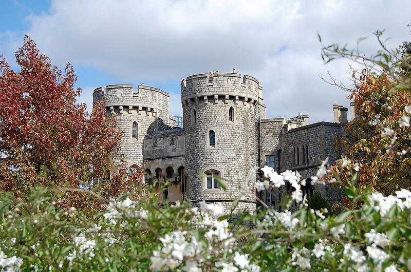 Castelo de Windsor - Inglaterra fotos de stock