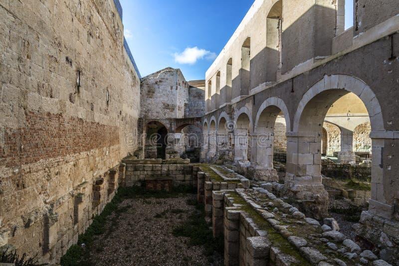 Castelo de Zamora fotos de stock