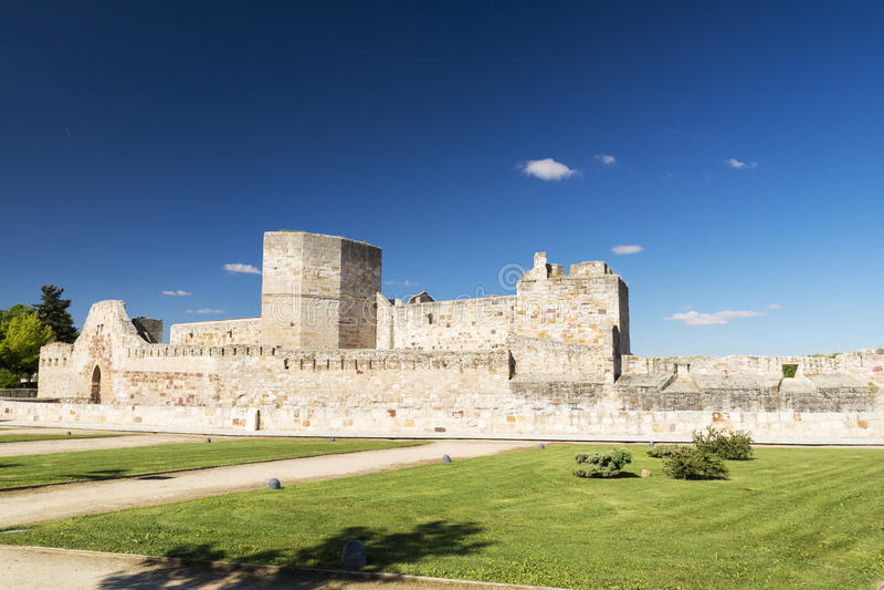 Castelo de Zamora foto de stock