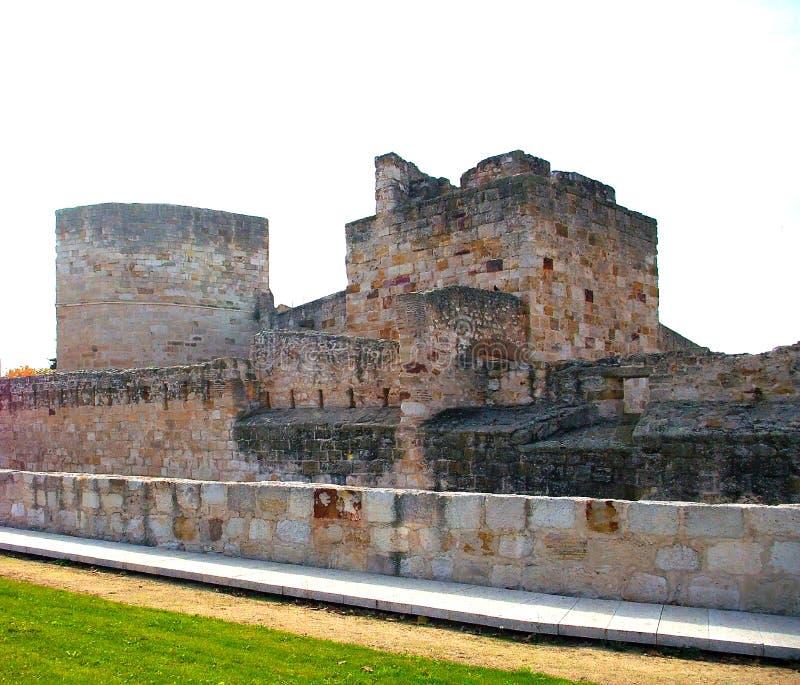 Castelo de Zamora, de Castile e de Leon spain imagem de stock royalty free