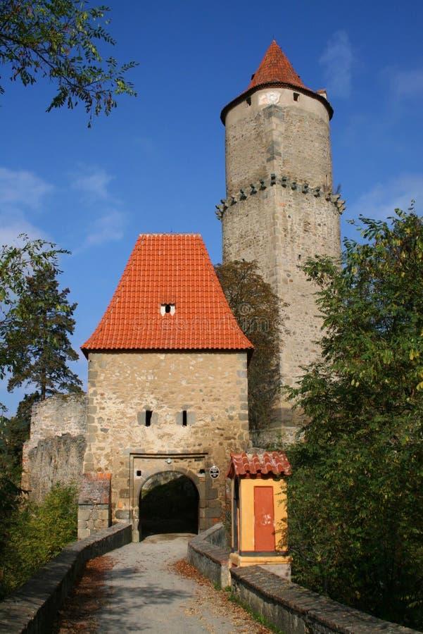 Castelo de Zvikov foto de stock royalty free