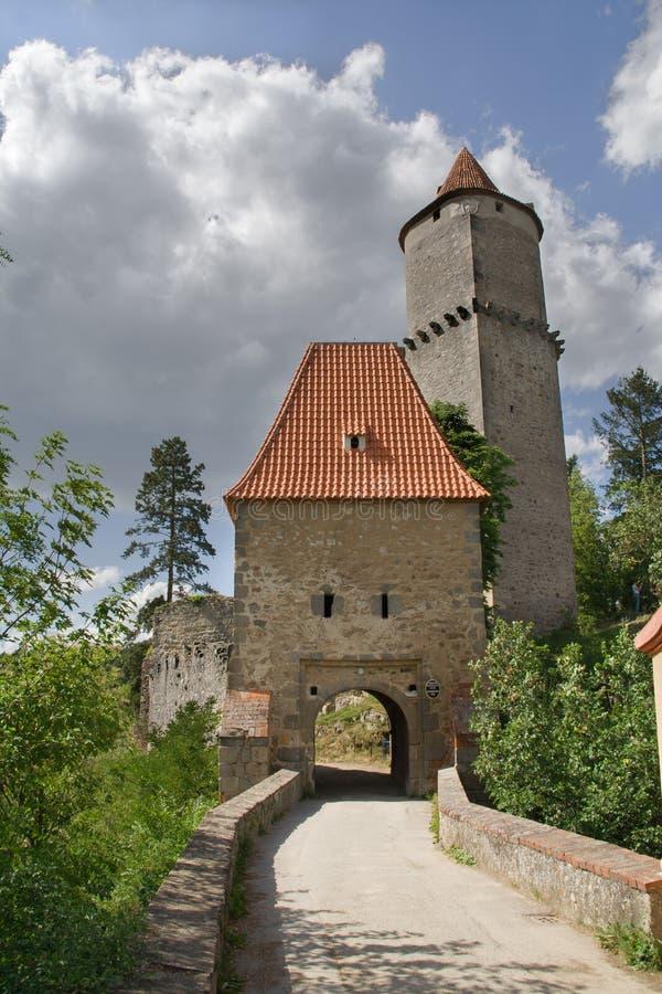 Castelo de Zvikov foto de stock