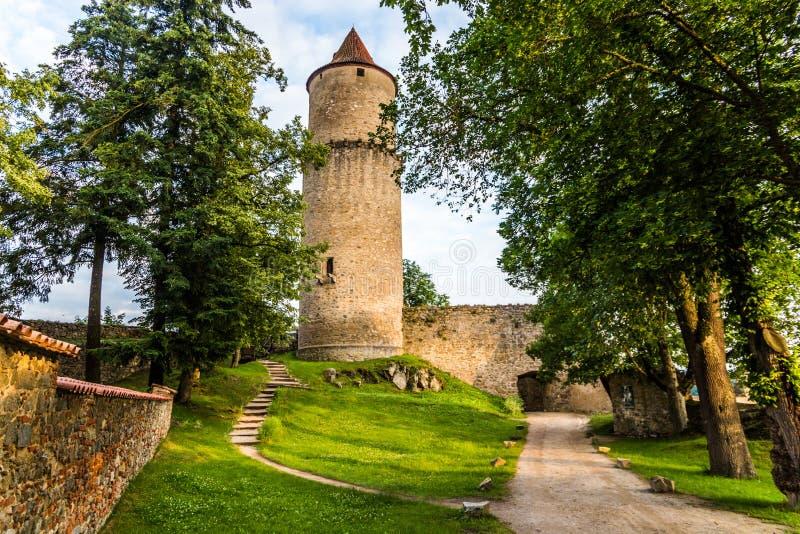 Castelo de Zvikov República checa fotos de stock