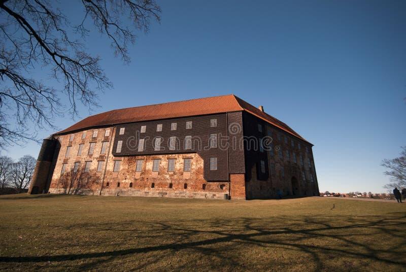 Castelo dinamarquês grande fotografia de stock