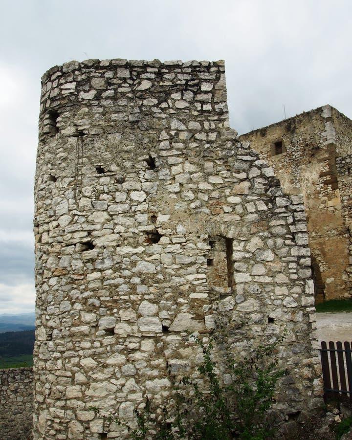 Castelo do ¡ de SpiÅ fotos de stock
