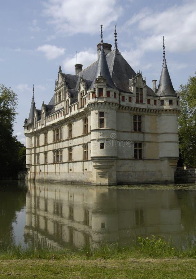 Download Castelo do Azay-le-Rideau, foto de stock. Imagem de france - 10067164