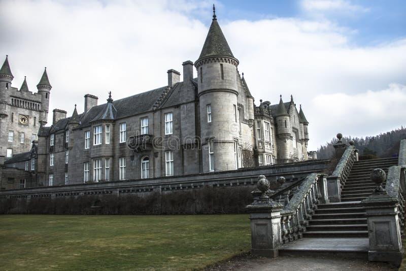 Castelo do Balmoral Aberdeenshire, Escócia, Reino Unido fotos de stock