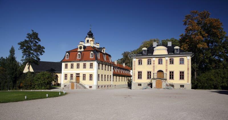 Castelo do Belvedere foto de stock royalty free