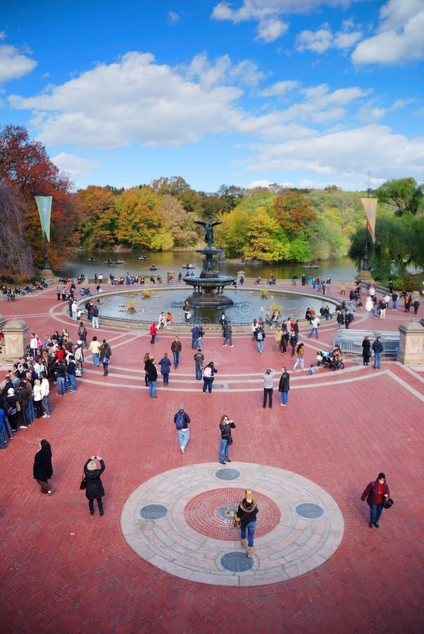 Castelo do Belvedere de New York City Central Park imagem de stock royalty free