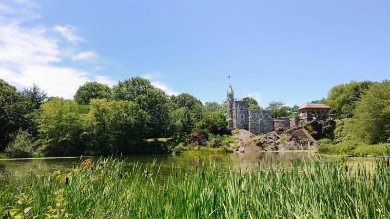 Castelo do Belvedere em Central Park foto de stock royalty free
