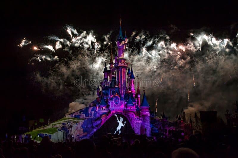 Castelo do conto de fadas em França imagem de stock royalty free