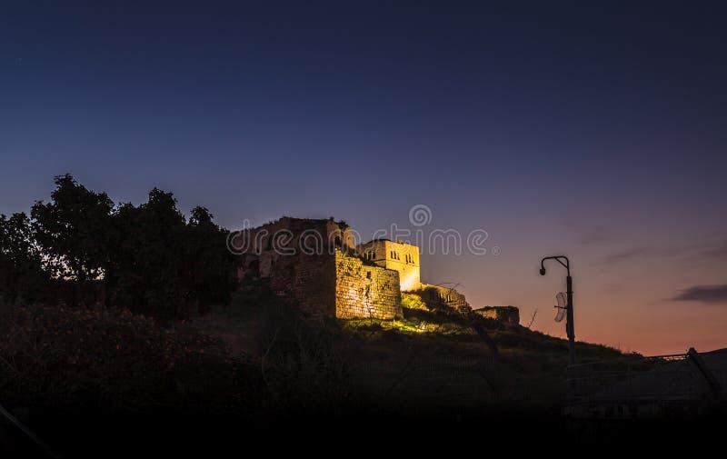 Castelo do cruzado fotos de stock