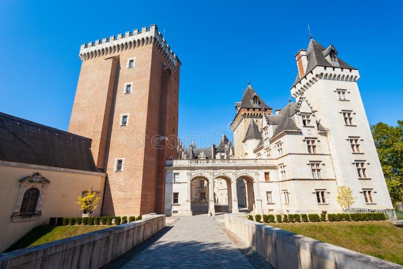 Castelo do de Pau do castelo, França fotos de stock royalty free
