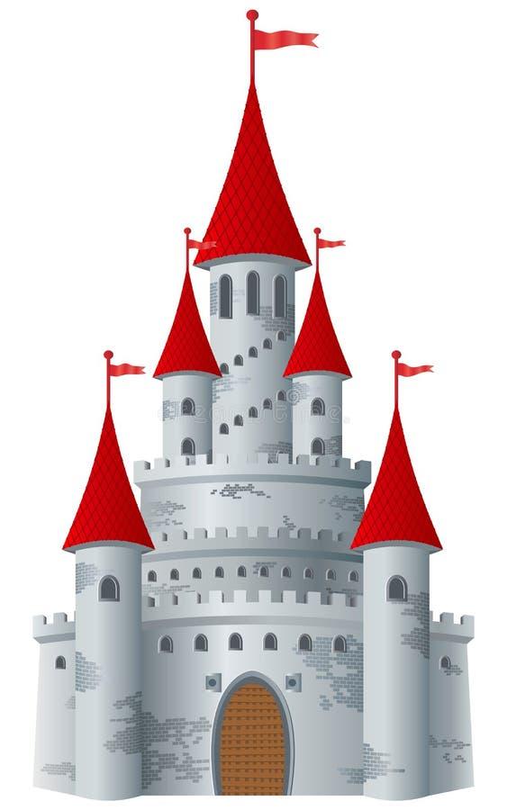 Castelo do Fairy-tale ilustração do vetor