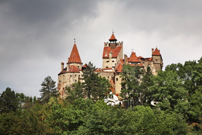 Castelo do farelo (castelo de Dracula) romania fotografia de stock