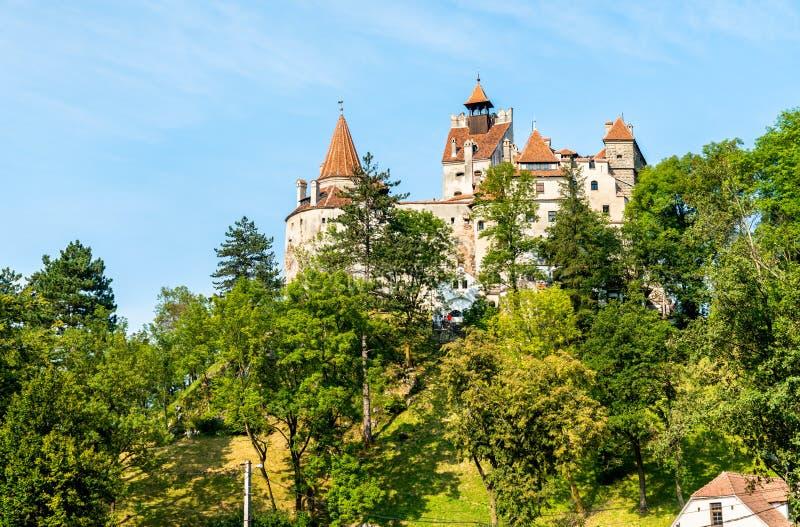 Castelo do farelo, famoso para a legenda de Dracula romania foto de stock royalty free