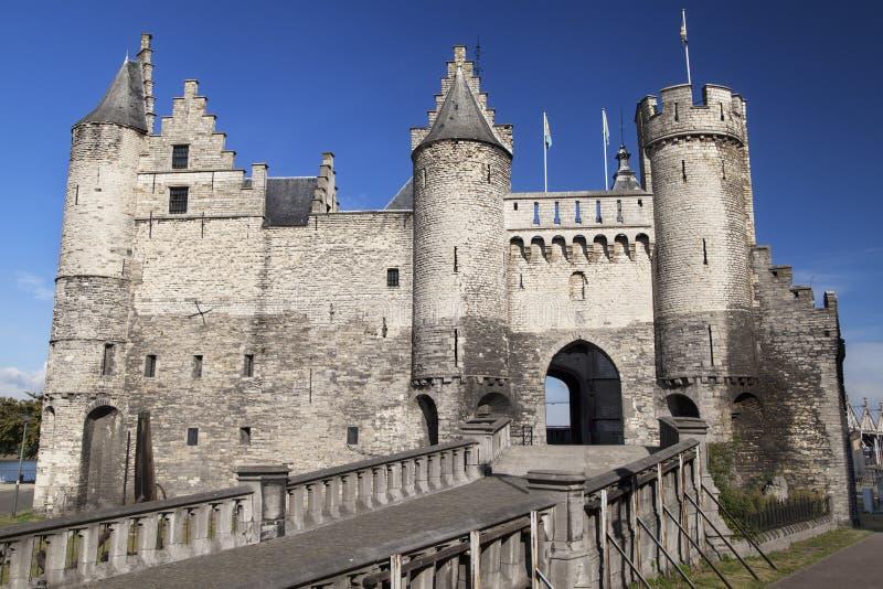 Castelo do Het steen imagens de stock royalty free