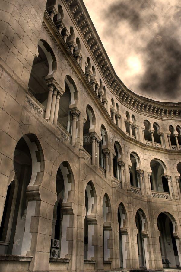 Castelo do Moorish fotos de stock