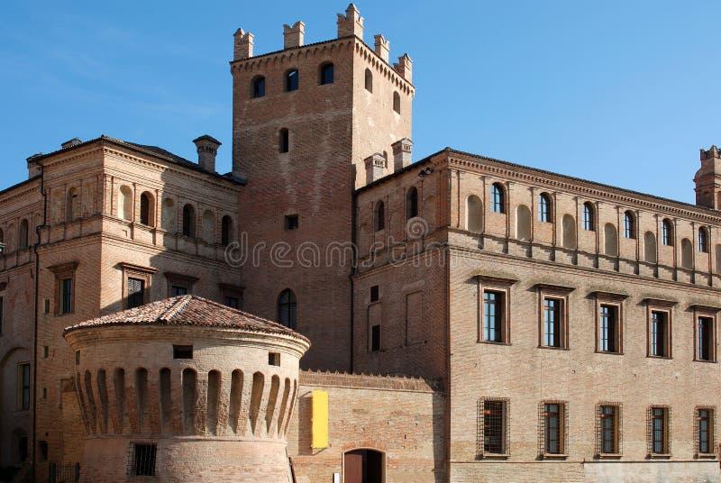 Castelo do Pio foto de stock royalty free