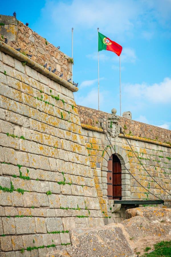Castelo do Queijo Entrance stock foto