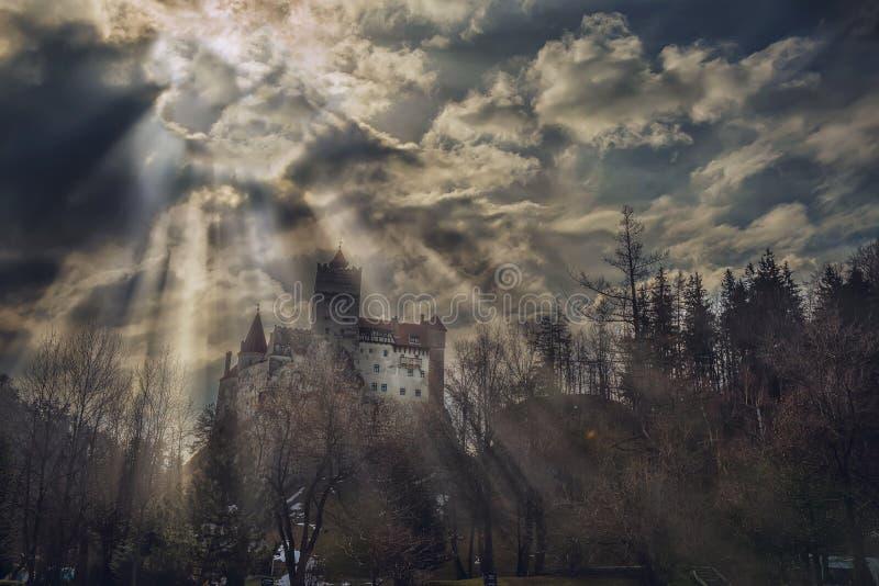 Castelo do ` s de Dracula foto de stock royalty free