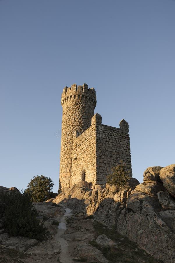 Castelo do ` s de Torrelodones Madrid, Spain imagem de stock