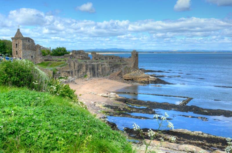Castelo do St Andrews fotos de stock royalty free