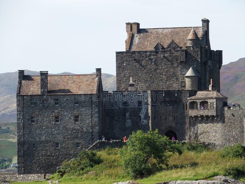 Castelo donan de Eilean em scotland foto de stock royalty free