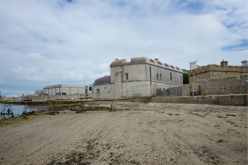 Castelo Dorset Reino Unido de Portland imagem de stock royalty free