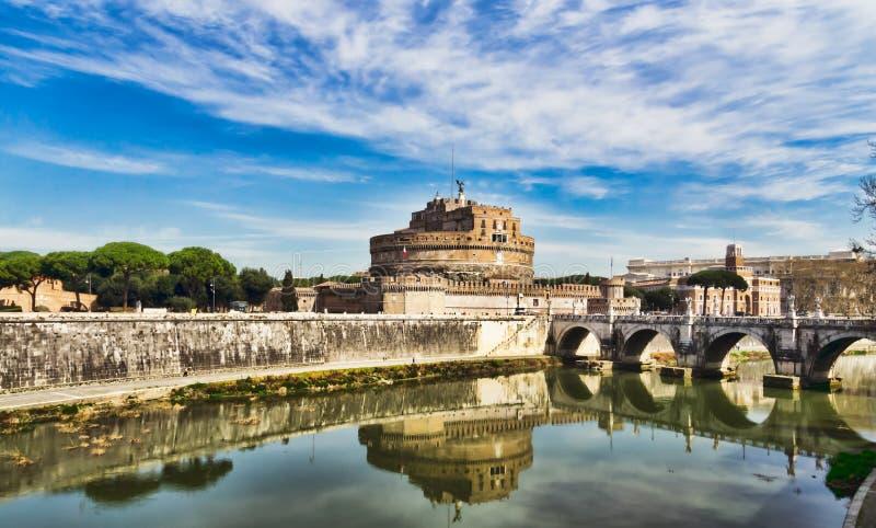 Castelo dos anjos, Roma imagens de stock royalty free