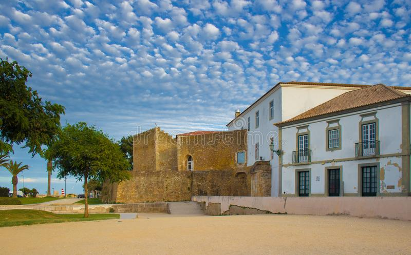 Castelo DOS Governadores i Lagos, Portugal royaltyfria bilder