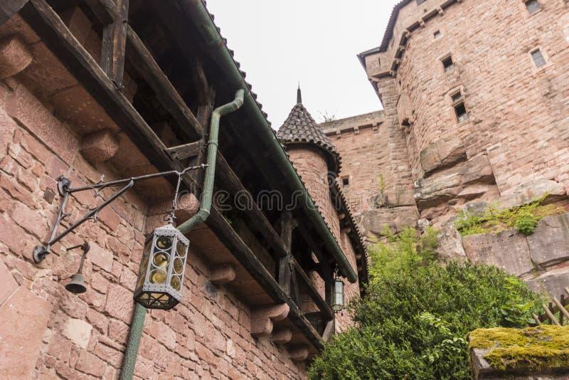 Castelo du Haut-Koenigsbourg, França imagens de stock royalty free