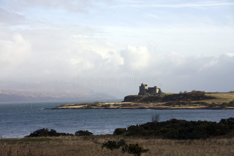 Castelo Duart fotos de stock royalty free
