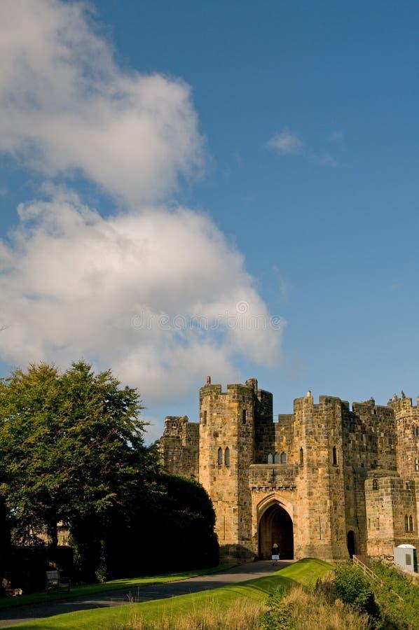 Castelo e nuvens fotos de stock royalty free