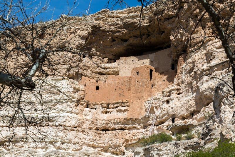 Castelo e poço de Montezuma imagem de stock