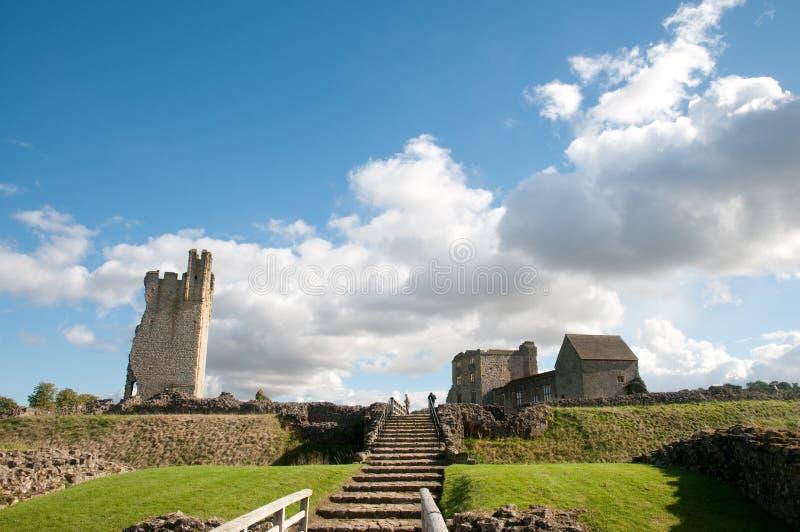 castelo e terras imagens de stock royalty free