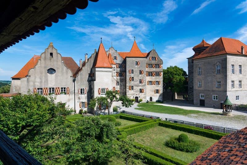 Castelo em Alemanha imagens de stock
