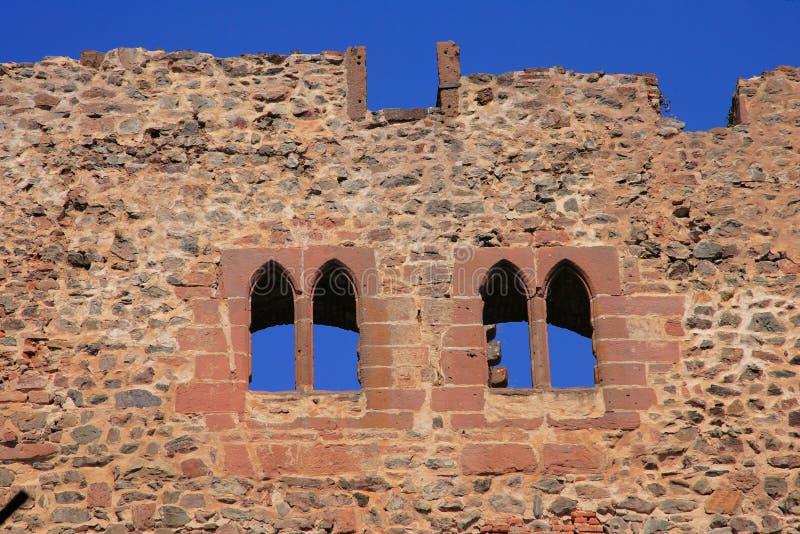 Castelo em Alsácia foto de stock royalty free