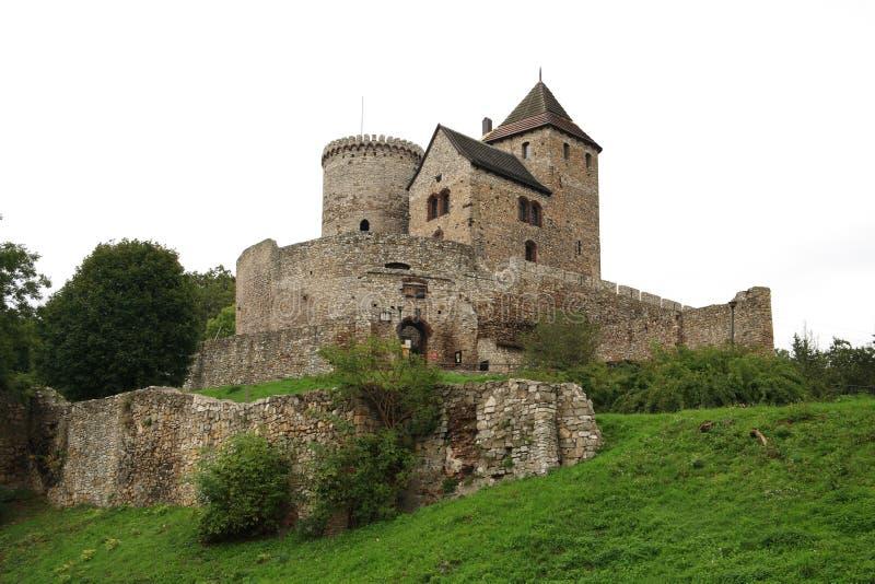 Castelo em BÄdzin foto de stock royalty free
